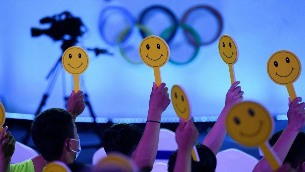 Nur geimpfte US-Sportler sollen in Peking dabei sein - Bildquelle: AFPSIDWANG ZHAO