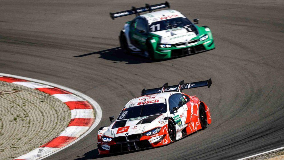 Verlor am Nürburgring aufgrund von technischen Problemen: Nico Müller (grüne... - Bildquelle: imago