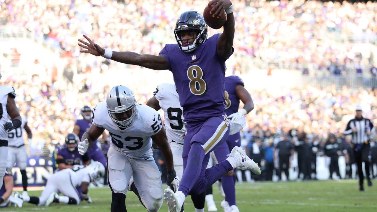 8. Baltimore Ravens 2019 - Bildquelle: 2018 Getty Images