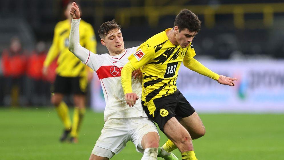 Der VfB Stuttgart empfängt den BVB zum Topspiel - Bildquelle: Getty