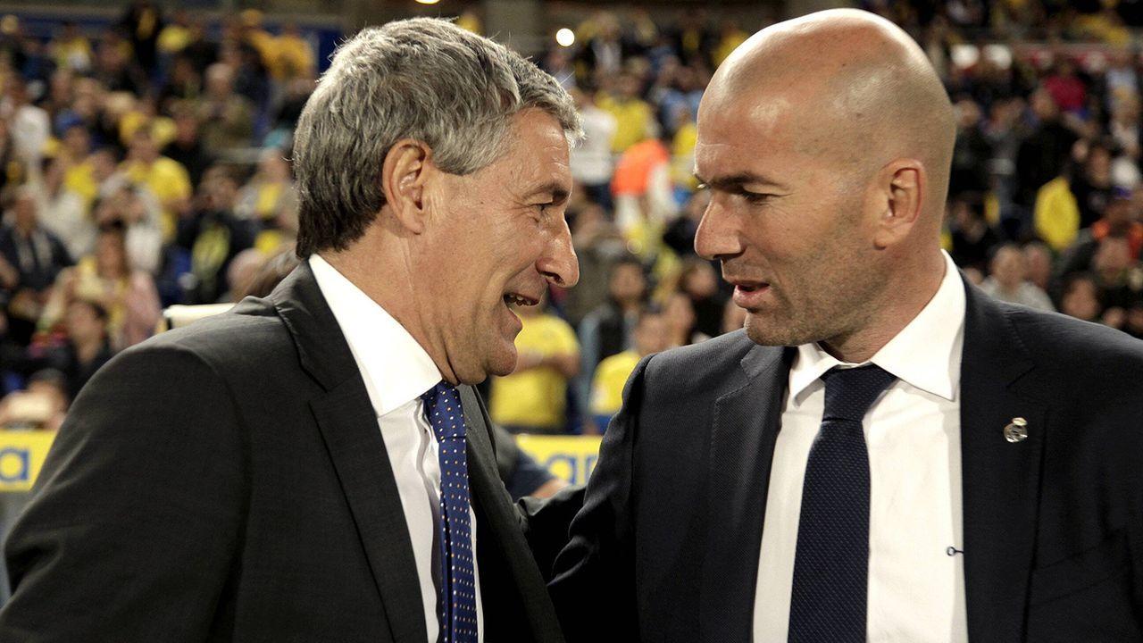 Real und Barca im Vergleich: Trainer - Bildquelle: Imago