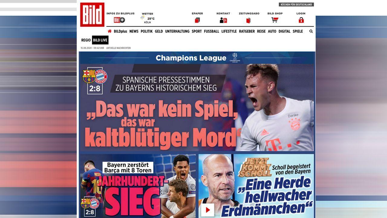 Deutschland - Bildquelle: bild.de