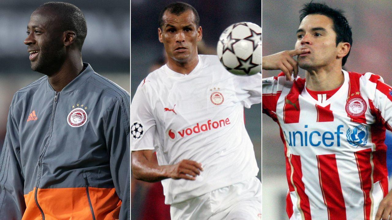 Rivaldo und Co.: Diese Stars spielten schon für Olympiakos Piräus - Bildquelle: Imago