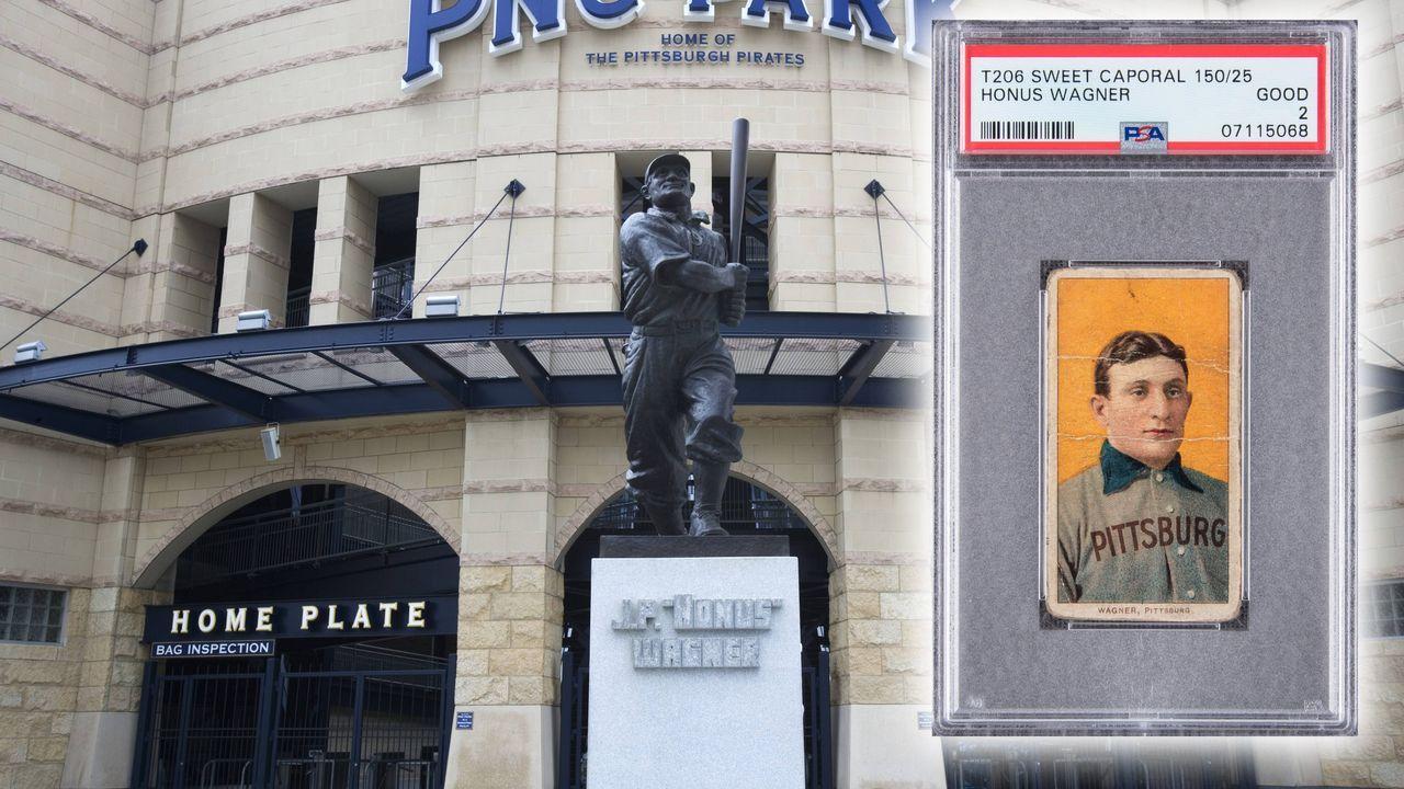 Baseball-Sammelkarte für rund 3,7 Millionen Dollar versteigert - Bildquelle: imago images/twitter.com/GoldinAuctions