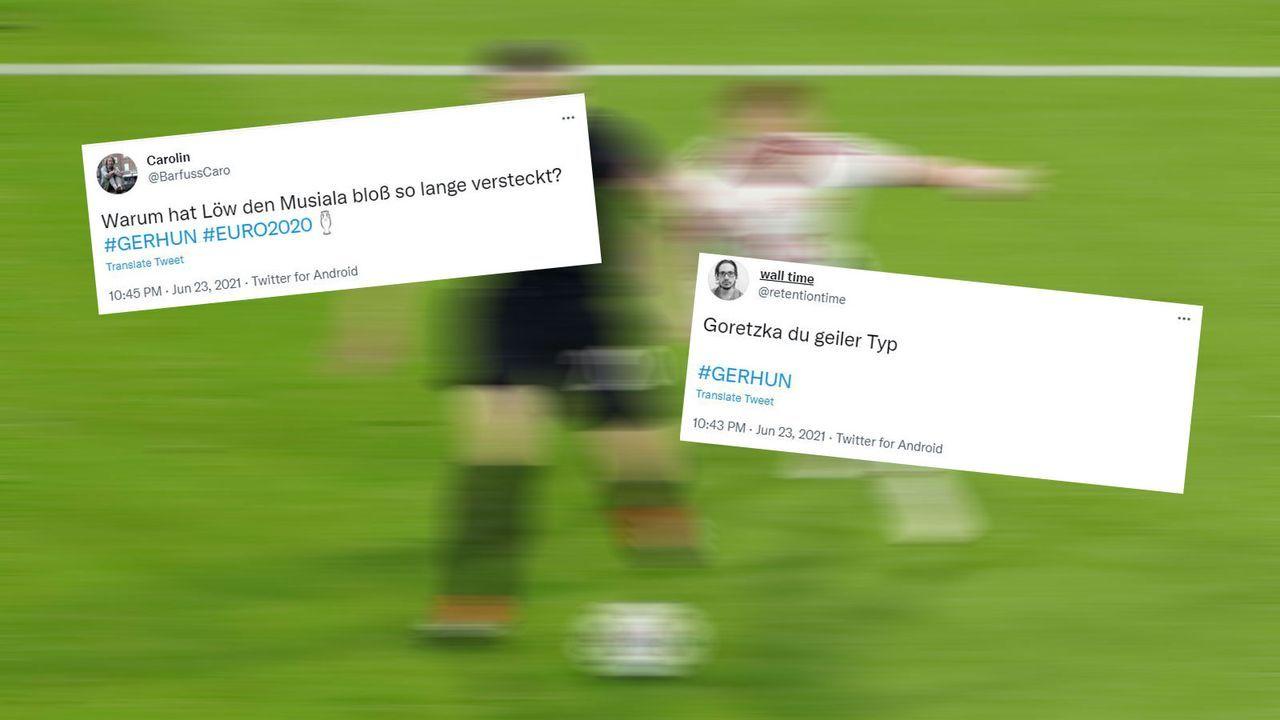 Zwei Wechselspieler richten es - Bildquelle: Imago Images/twitter.com @BarfussCaro/twitter.com @retentiontime