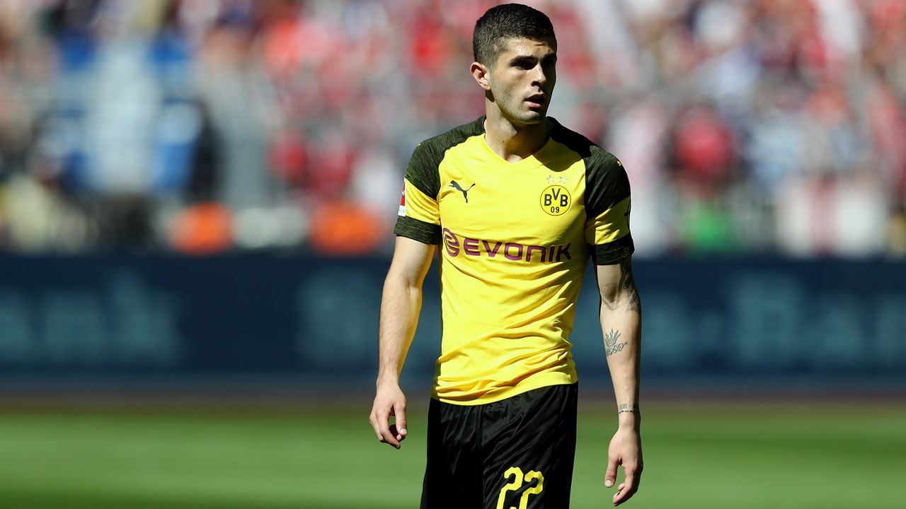 Christian Pulisic (Borussia Dortmund) - Bildquelle: 2018 Getty Images