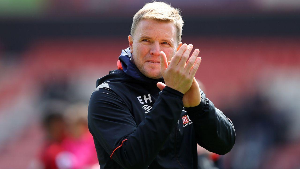 Platz 10 - Eddie Howe (AFC Bournemouth) - Bildquelle: 2019 Getty Images