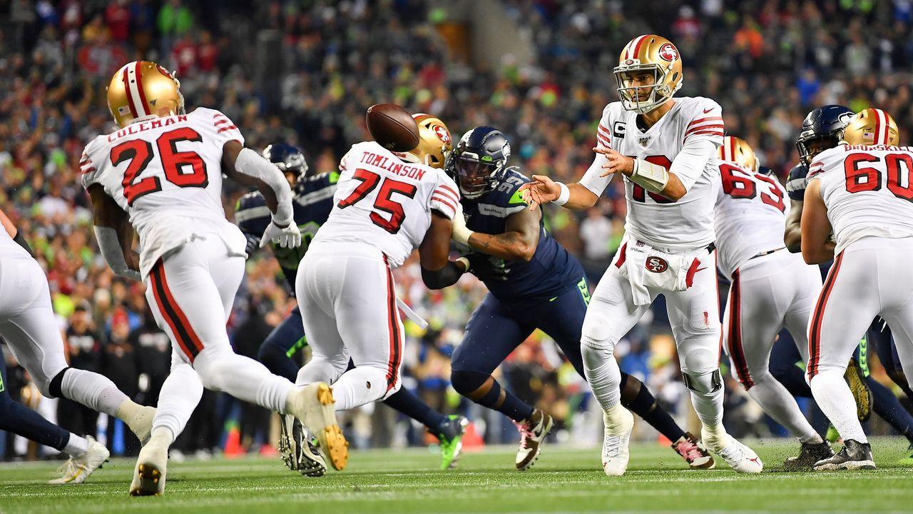 8. Spieltag: San Francisco 49ers @ Seattle Seahawks - Bildquelle: 2019 Getty Images
