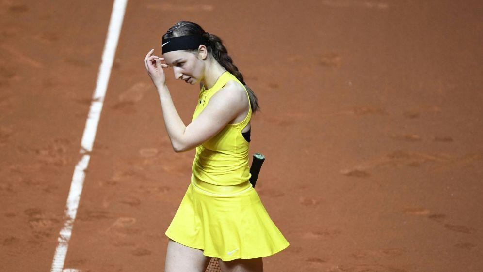 Niederlage für Tamara Korpatsch in Stuttgart - Bildquelle: AFPSIDTHOMAS KIENZLE