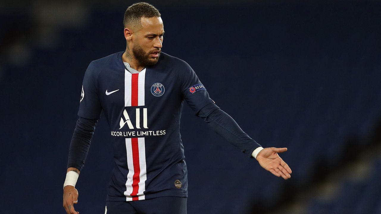 Platz 4 - Neymar (Fußball) - Bildquelle: 2020 UEFA