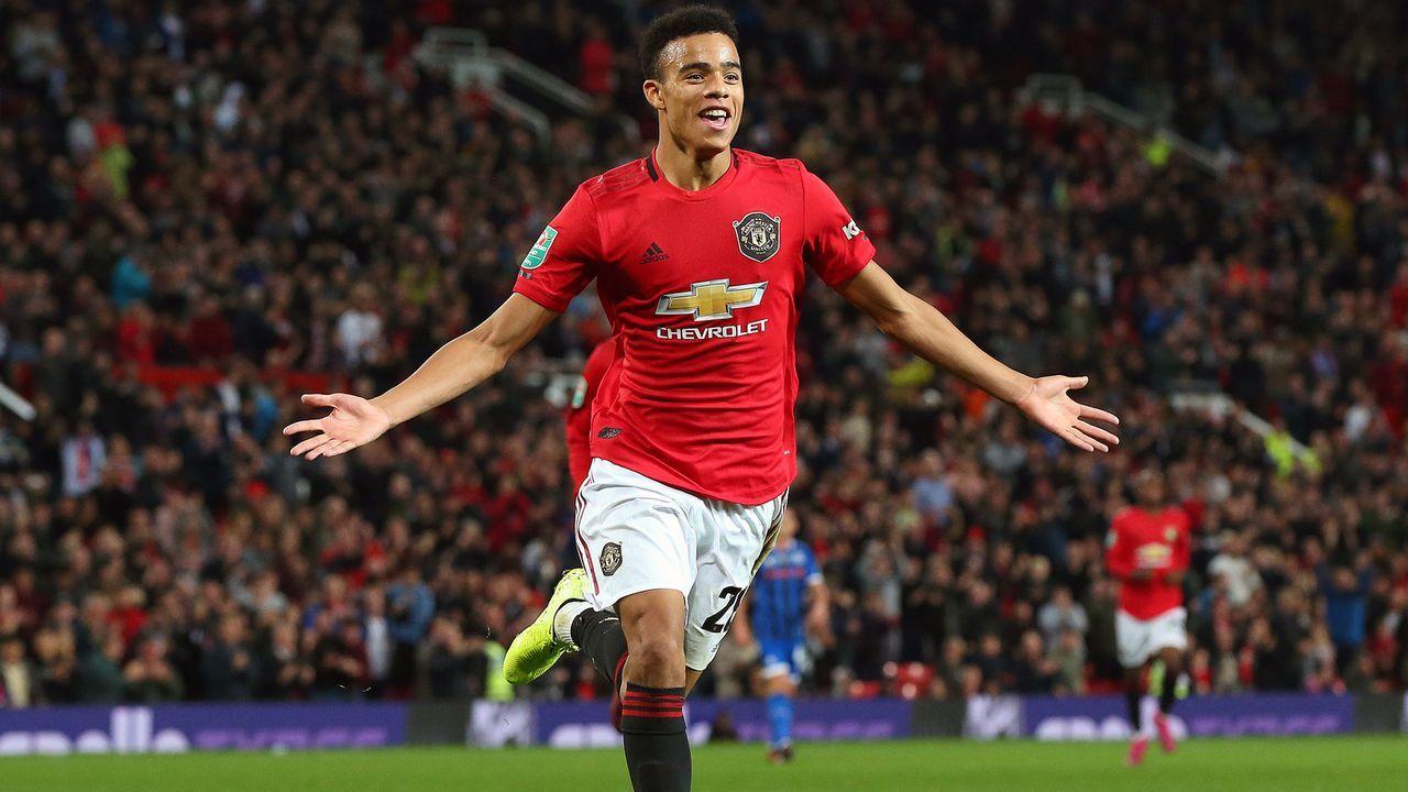 9. Mason Greenwood (Manchester United/England) - Bildquelle: 2019 Getty Images