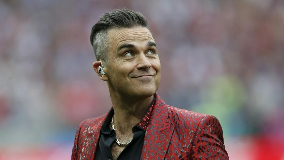 """Klopp ist der """"Manner-Schwarm"""" von Robbie Williams - Bildquelle: PIXATHLONPIXATHLONSID"""