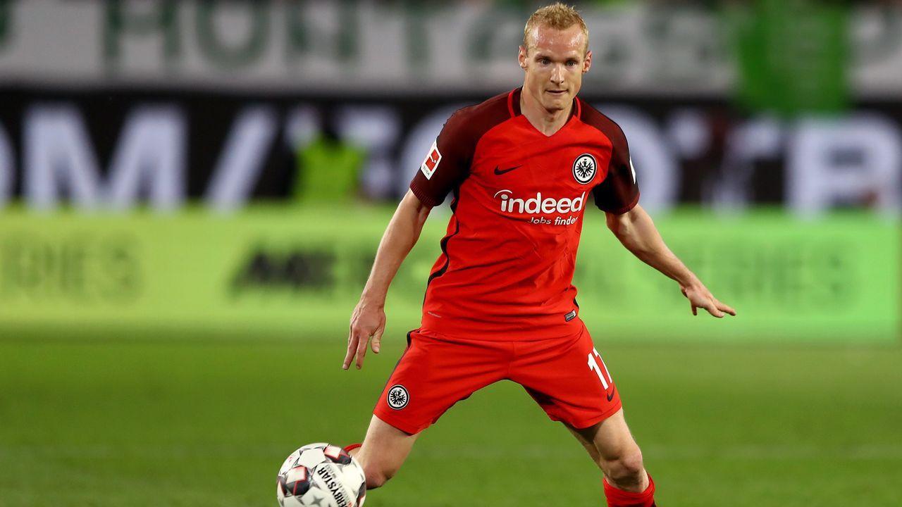 Platz 9 - Sebastian Rode (Eintracht Frankfurt) - Bildquelle: 2019 Getty Images