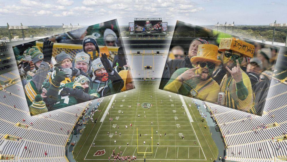 Das Lambeau Field der Green Bay Packers soll in der Saison 2020 mit weniger ... - Bildquelle: imago/ZUMA Press