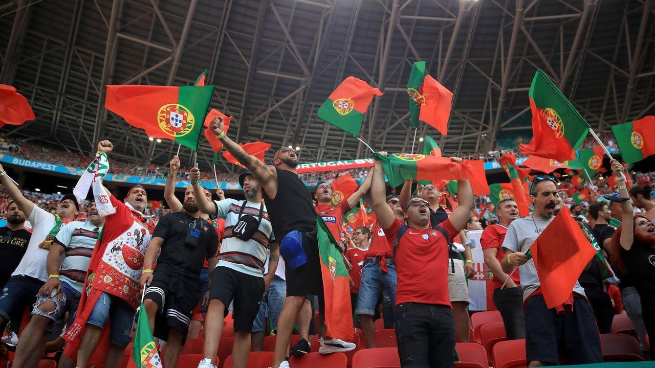 Portugals Fans machen Alarm - Bildquelle: Getty Images