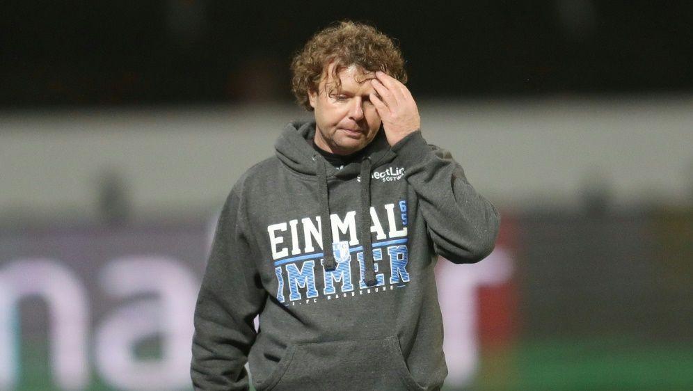 3. Liga: Magdeburg stellt Trainer Krämer frei