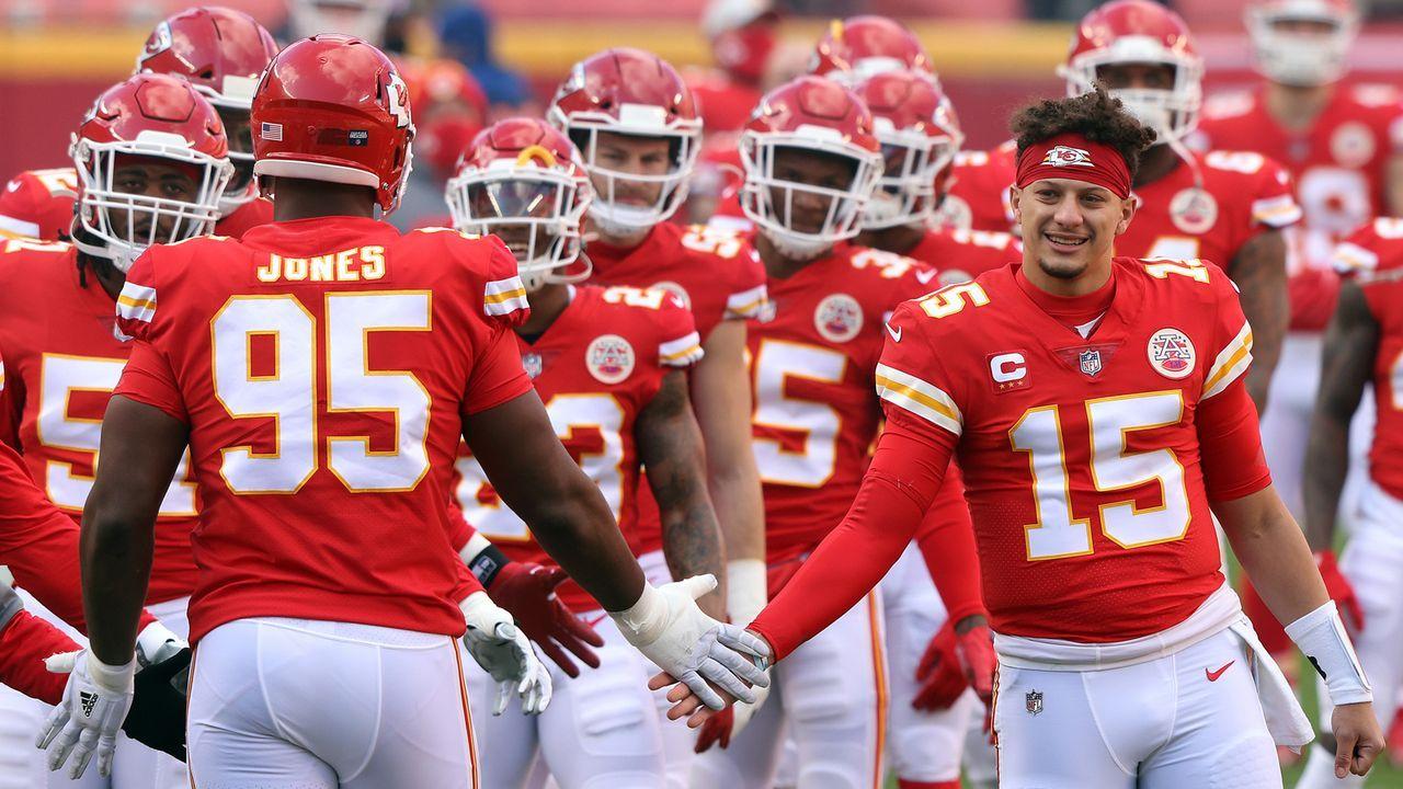 Platz 20: Kansas City Chiefs - Bildquelle: 2021 Getty Images