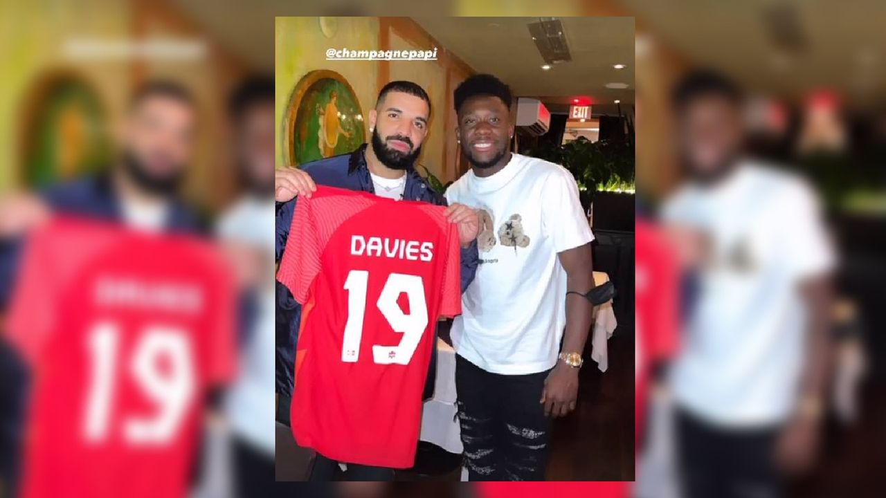 Schlägt bei den Bayern der Drake-Fluch zu? - Bildquelle: instagram.com/alphonsodavies/?hl=de