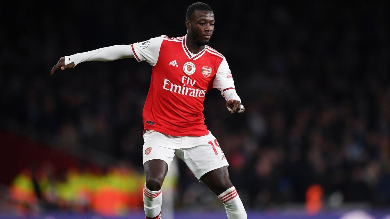 Platz 28 - Nicolas Pepe (FC Arsenal) - Bildquelle: 2019 Getty Images