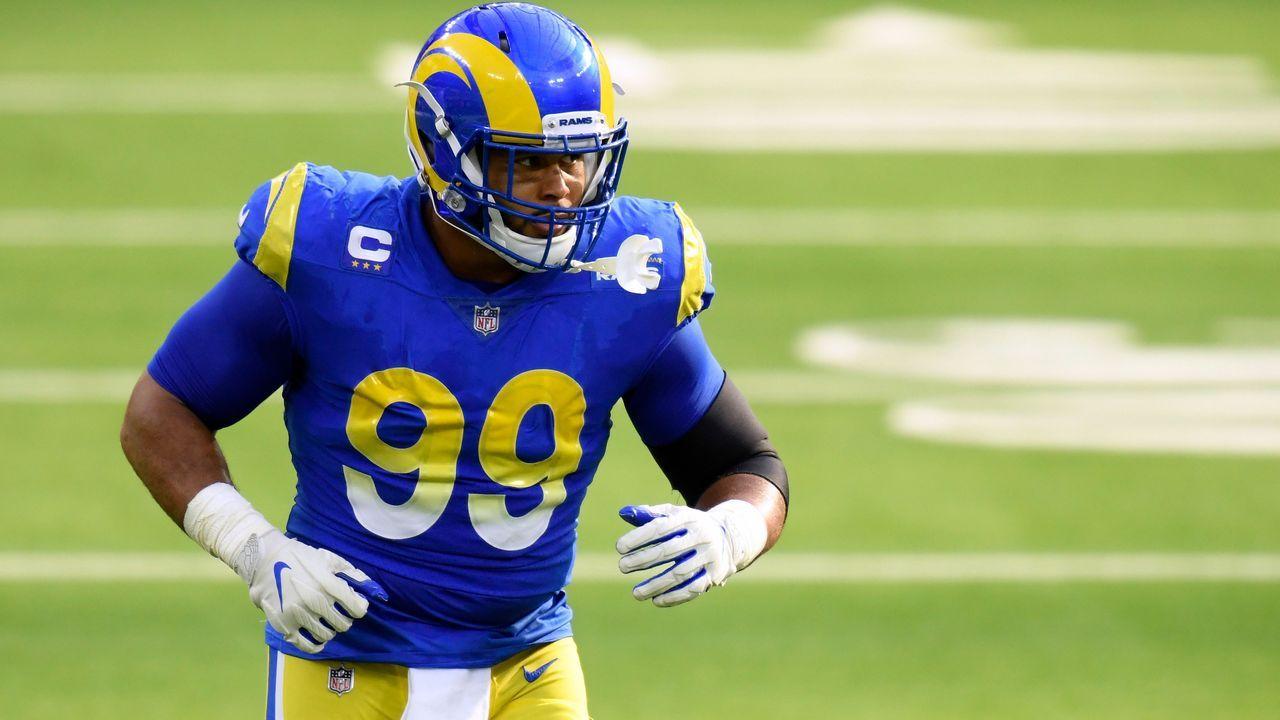 Defensive Tackle: Aaron Donald (Los Angeles Rams) - Bildquelle: 2020 Getty Images