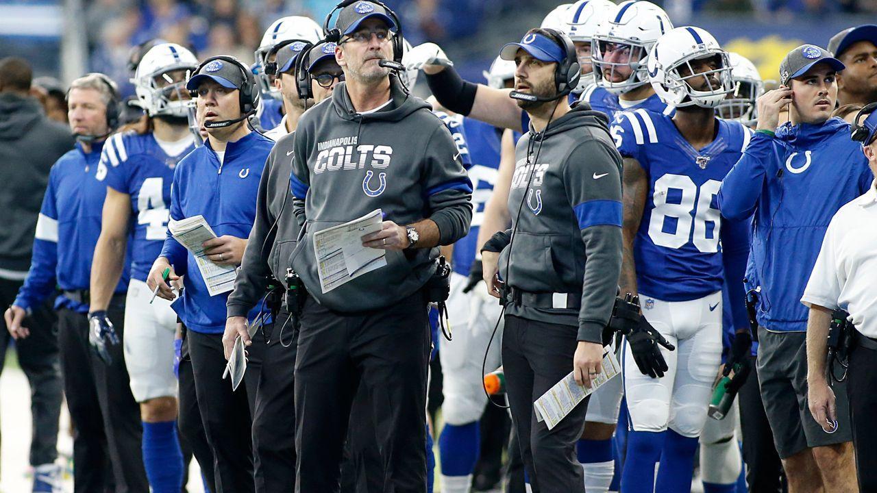 14. Platz: Indianapolis Colts - Bildquelle: 2019 Getty Images