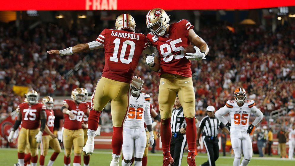Haben einen Lauf: die San Francisco 49ers. - Bildquelle: 2019 Getty Images