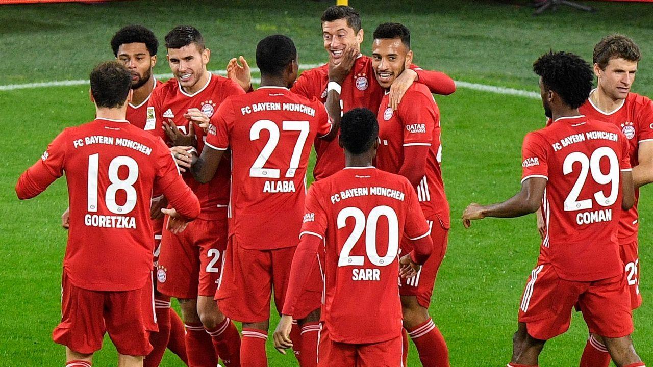 Platz 2: FC Bayern München - Bildquelle: getty