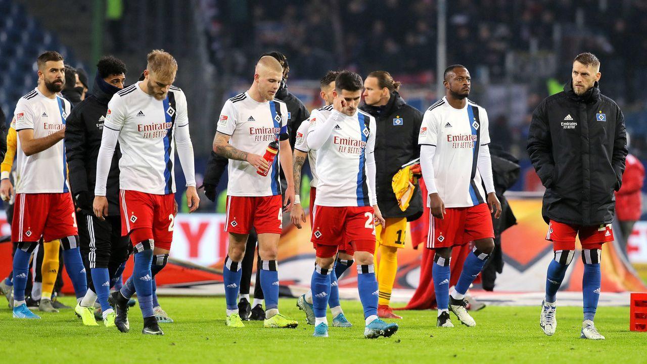 Verlierer: Hamburger SV - Bildquelle: imago images/Michael Schwarz