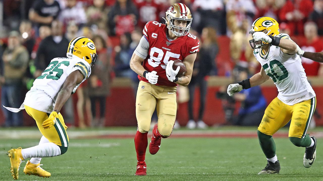 George Kittle: Die Playoff-Bilanz - Bildquelle: Getty