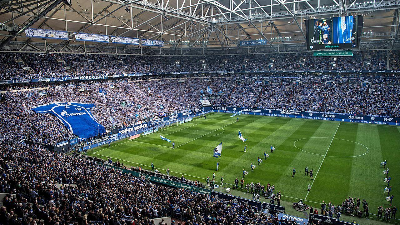 Platz 4: FC Schalke 04 - Veltins-Arena - Bildquelle: Getty