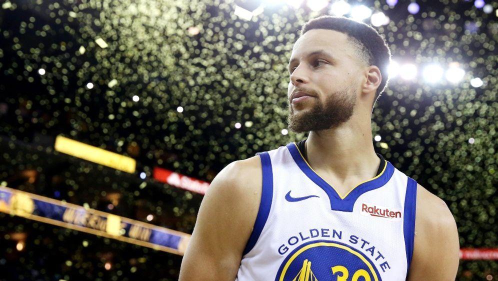 Curry überzeugt in Spiel eins - Bildquelle: GETTY IMAGES NORTH AMERICAGETTY IMAGES NORTH AMERICASIDEZRA SHAW