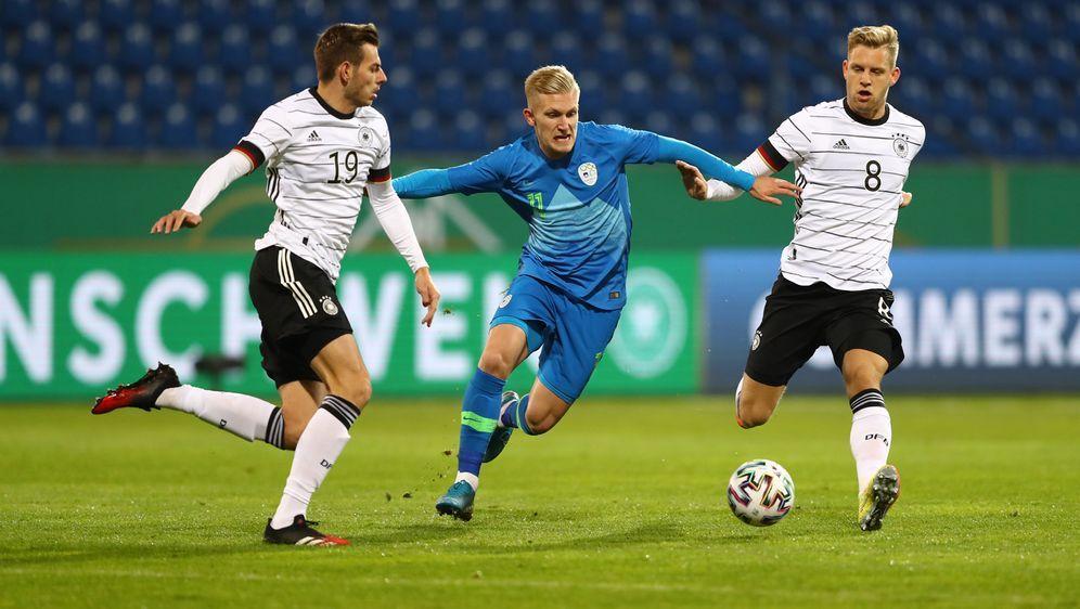 U21 spielte nur 1:1 gegen Slowenien - Bildquelle: getty