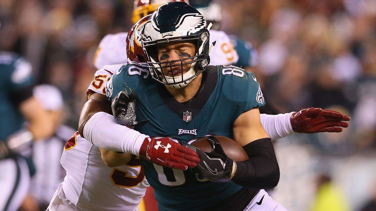 Zach Ertz (Philadelphia Eagles) - Bildquelle: 2018 Getty Images