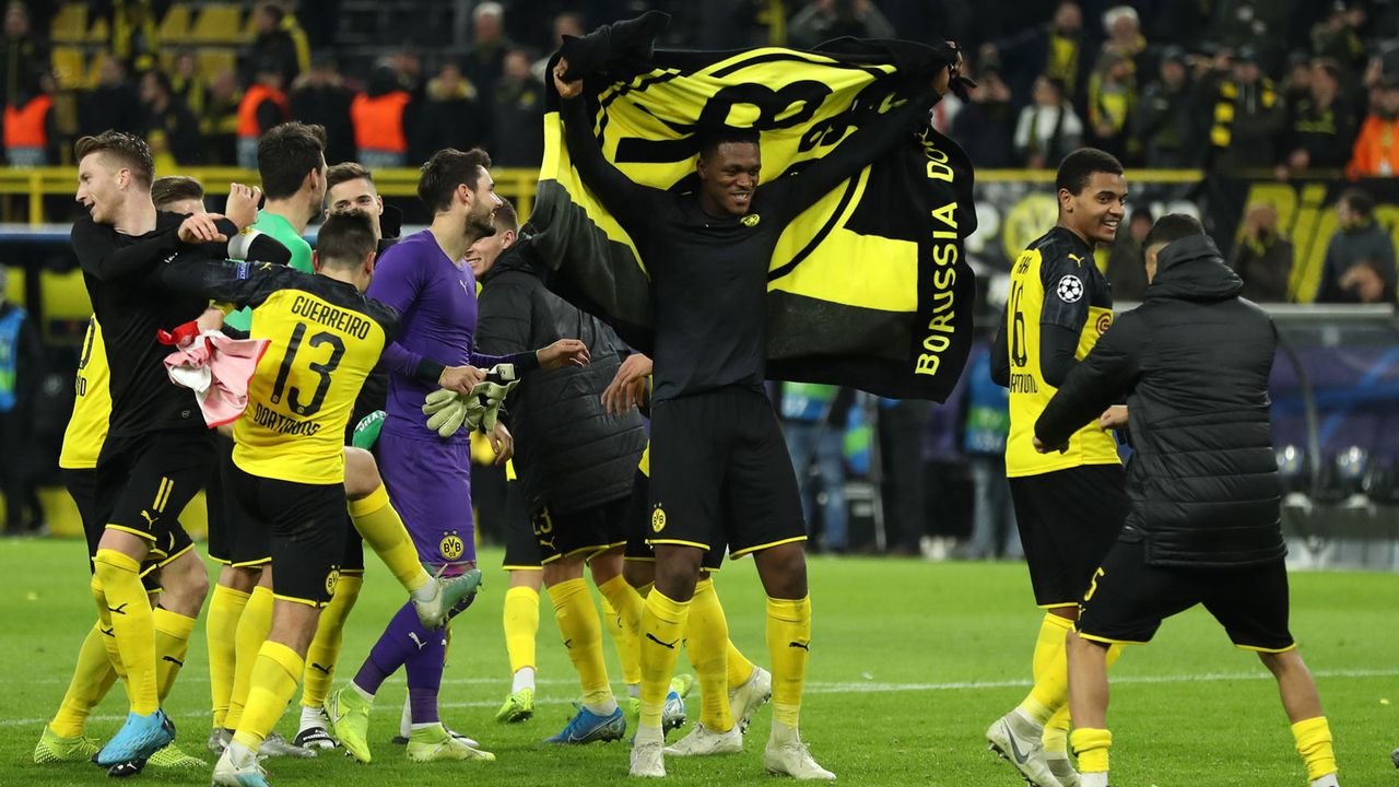 Platz 9: Borussia Dortmund (gegen Paris St. Germain) - Bildquelle: 2019 Getty Images