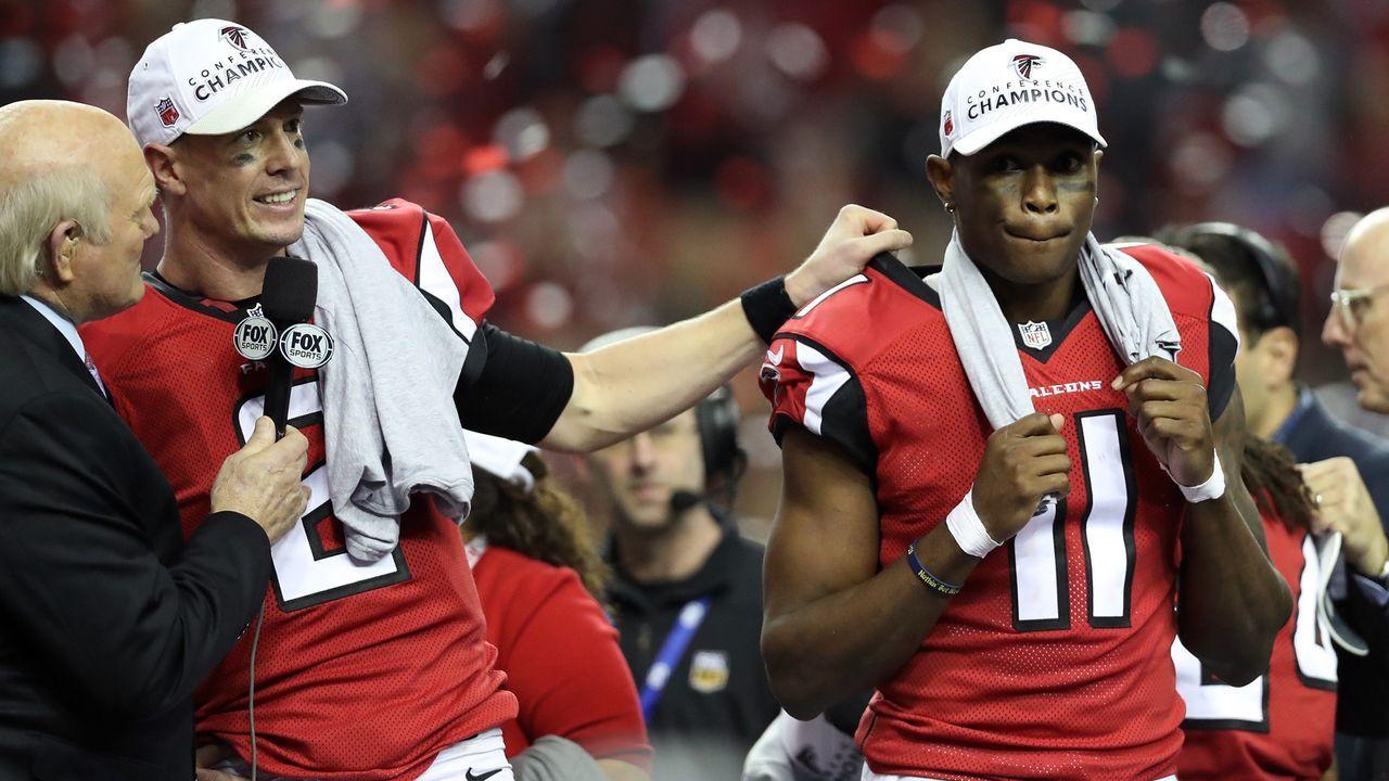 5. Atlanta Falcons 2016 - Bildquelle: 2017 Getty Images
