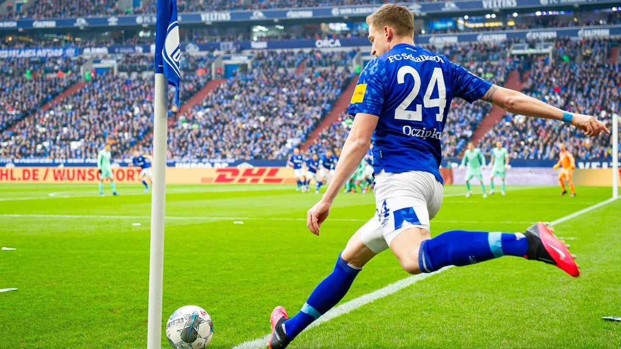 Platz 1: Bastian Oczipka (FC Schalke 04) - Bildquelle: imago images/Kirchner-Media