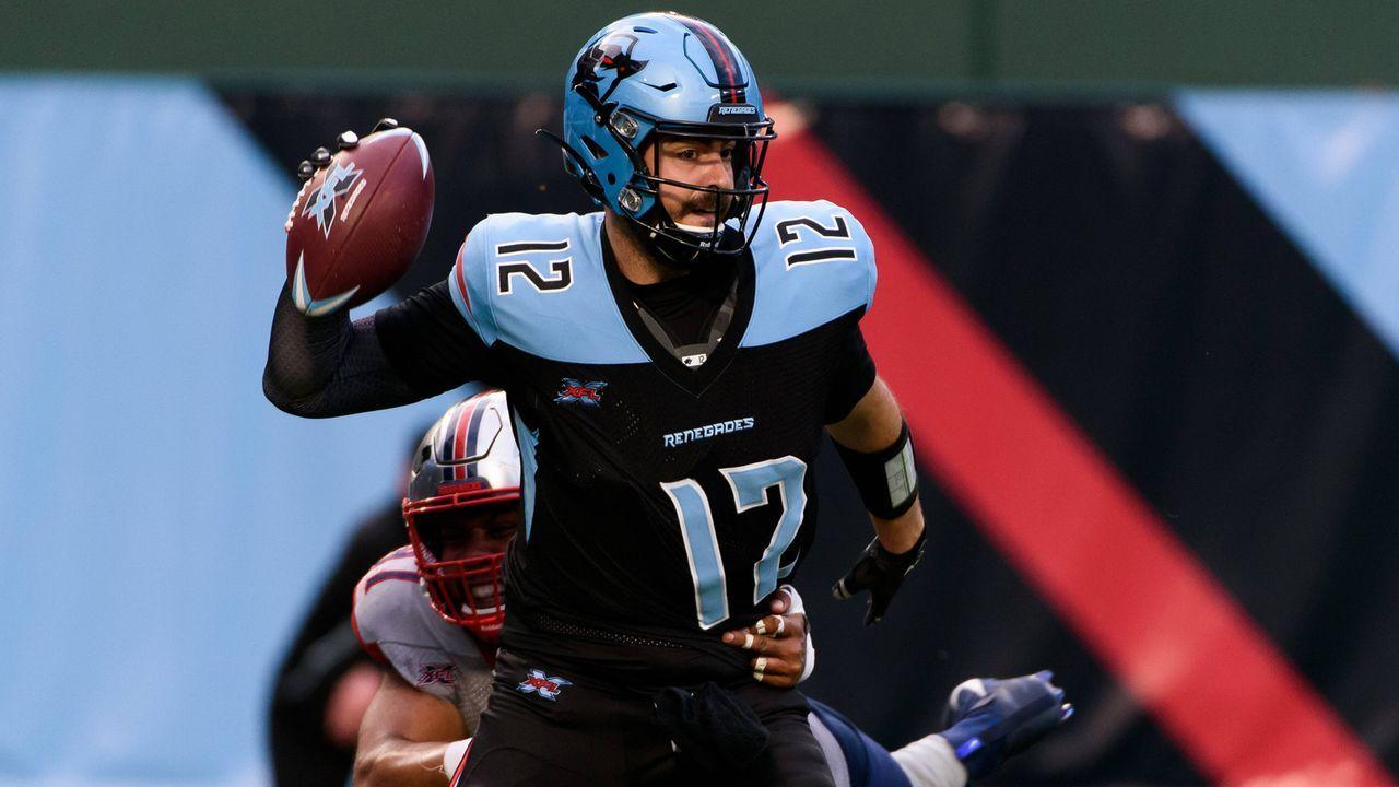 Verlierer: Landry Jones (Quarterback, Dallas Renegades) - Bildquelle: imago images/ZUMA Press