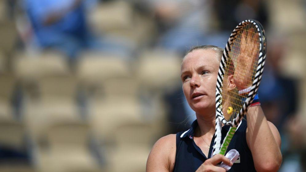 Für Kiki Bertens sind die French Open bereits beendet - Bildquelle: AFPSIDAnne-Christine POUJOULAT
