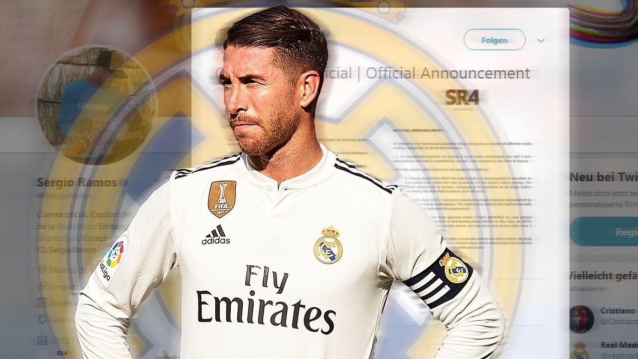 Auffälliges Verhalten von Sergio Ramos bei zwei Dopingkontrollen - Bildquelle: 2018 Getty Images