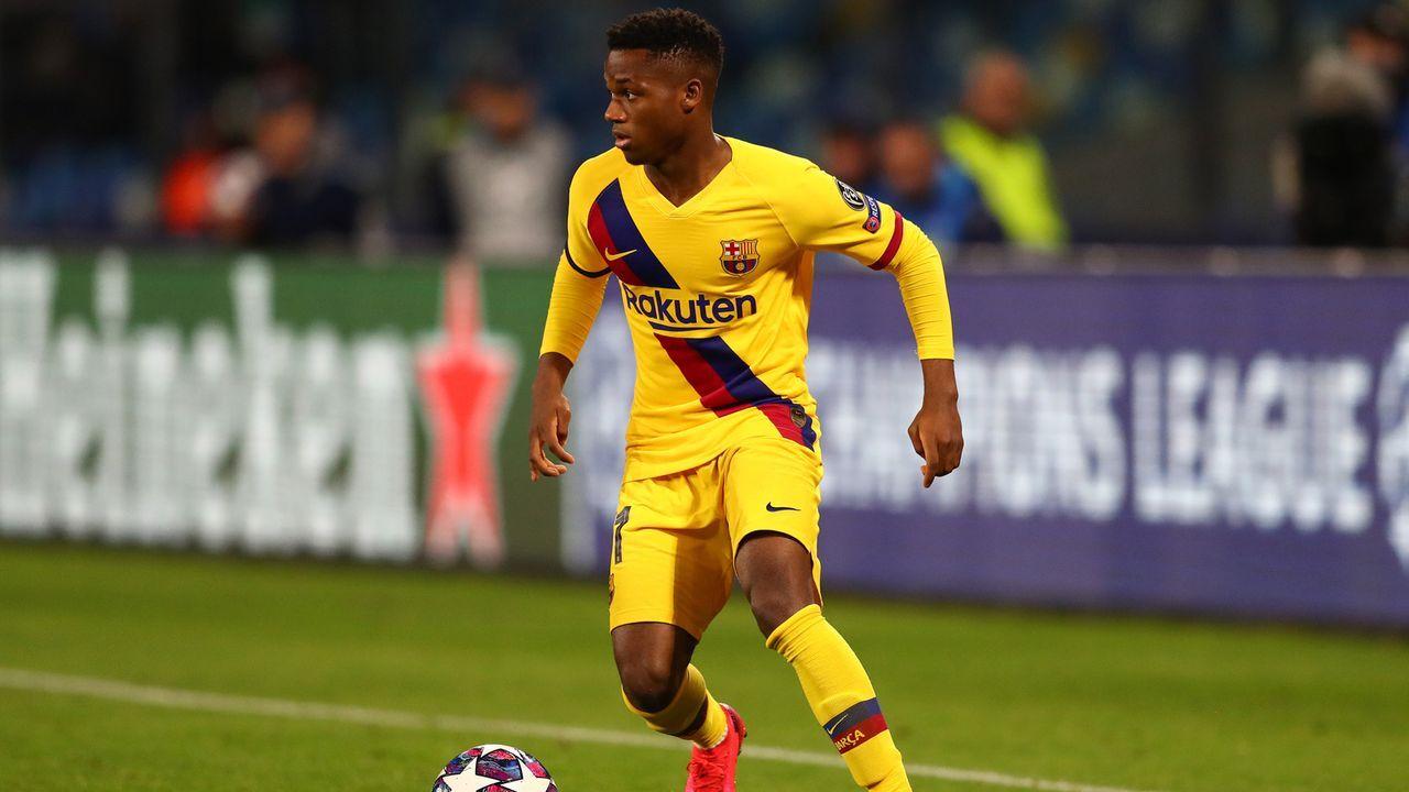 Ansu Fati (FC Barcelona) - Bildquelle: 2020 Getty Images