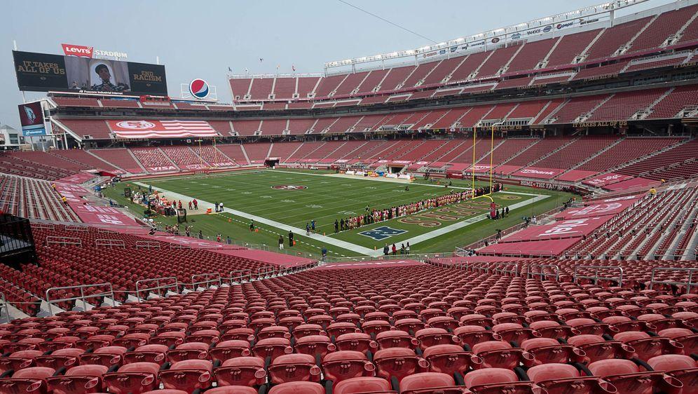 """Das """"Levi's Stadium"""" bietet Platz für 68.500 Zuschauer. - Bildquelle: imago images/ZUMA Wire"""