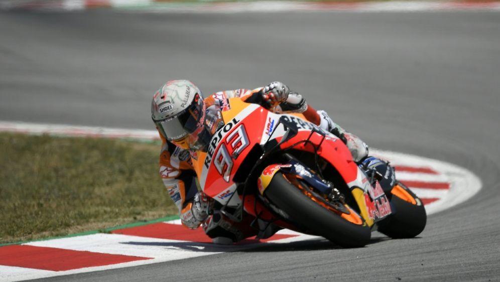Marc Marquez siegte ungefährdet in Barcelona - Bildquelle: AFPSIDLLUIS GENE