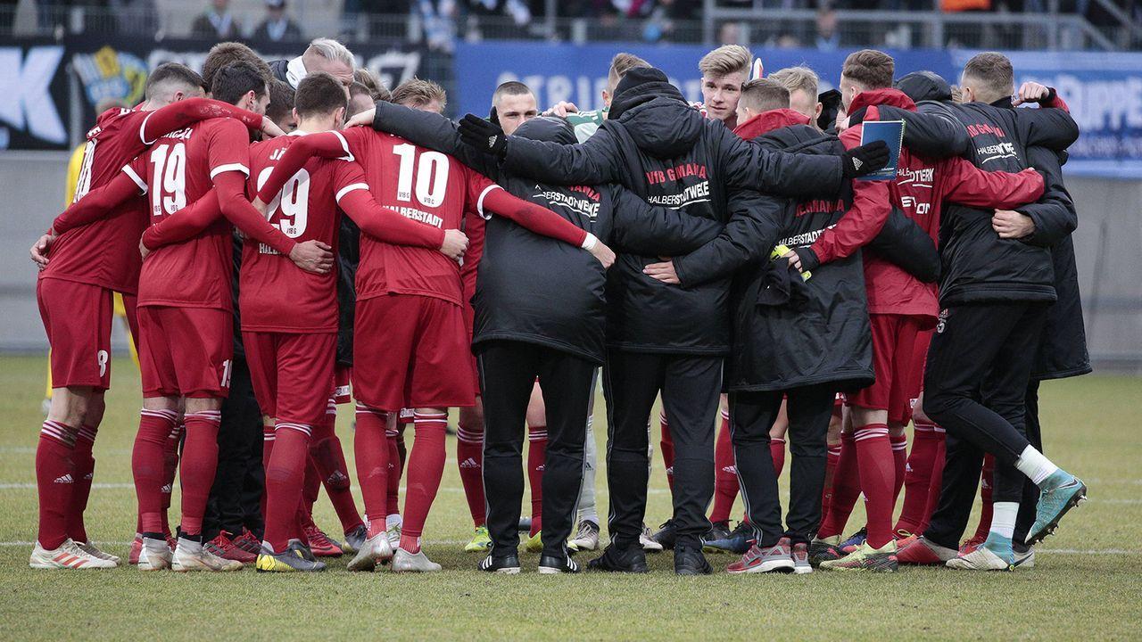 VfB Germania Halberstadt - Bildquelle: imago images / Manngold