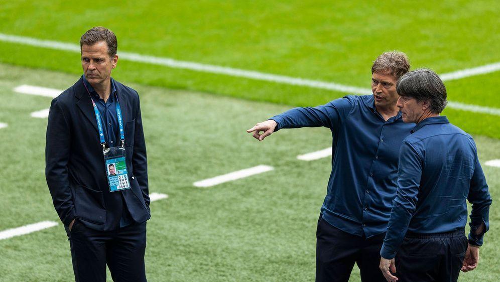 Der DFB hat wohl für Ärger in München gesorgt. - Bildquelle: imago images/Moritz Müller