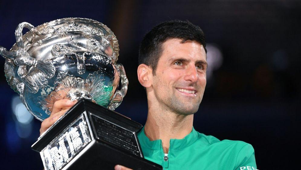 311 Wochen an der Spitze der Tenniswelt: Novak Djokovic - Bildquelle: AFPSIDWILLIAM WEST