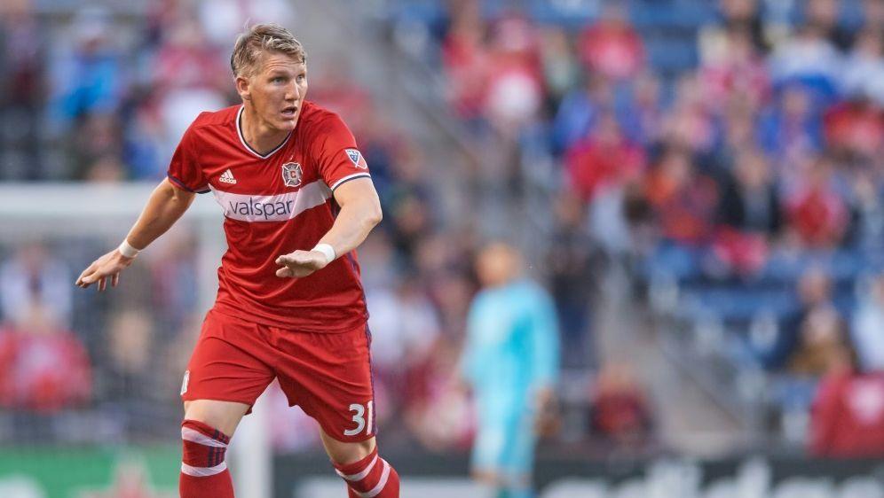 Bastian Schweinsteiger spielte 90 Minuten durch - Bildquelle: PIXATHLONPIXATHLONSID