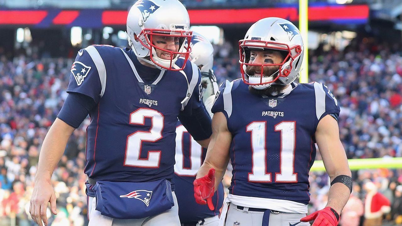 Platz 3: New England Patriots (12-5 - letzte Woche Platz 3) - Bildquelle: 2018 Getty Images
