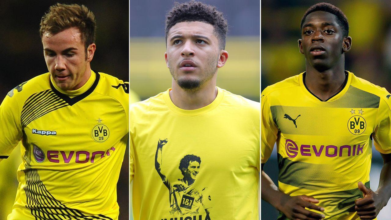 Top 15: Die teuersten Verkäufe von Borussia Dortmund seit 2012 - Bildquelle: Getty Images/imago