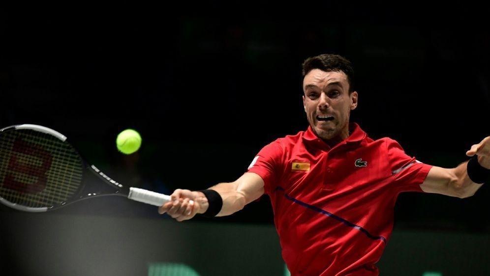 Roberto Bautista Agut reist vom Davis Cup ab - Bildquelle: AFPAFPJAVIER SORIANO
