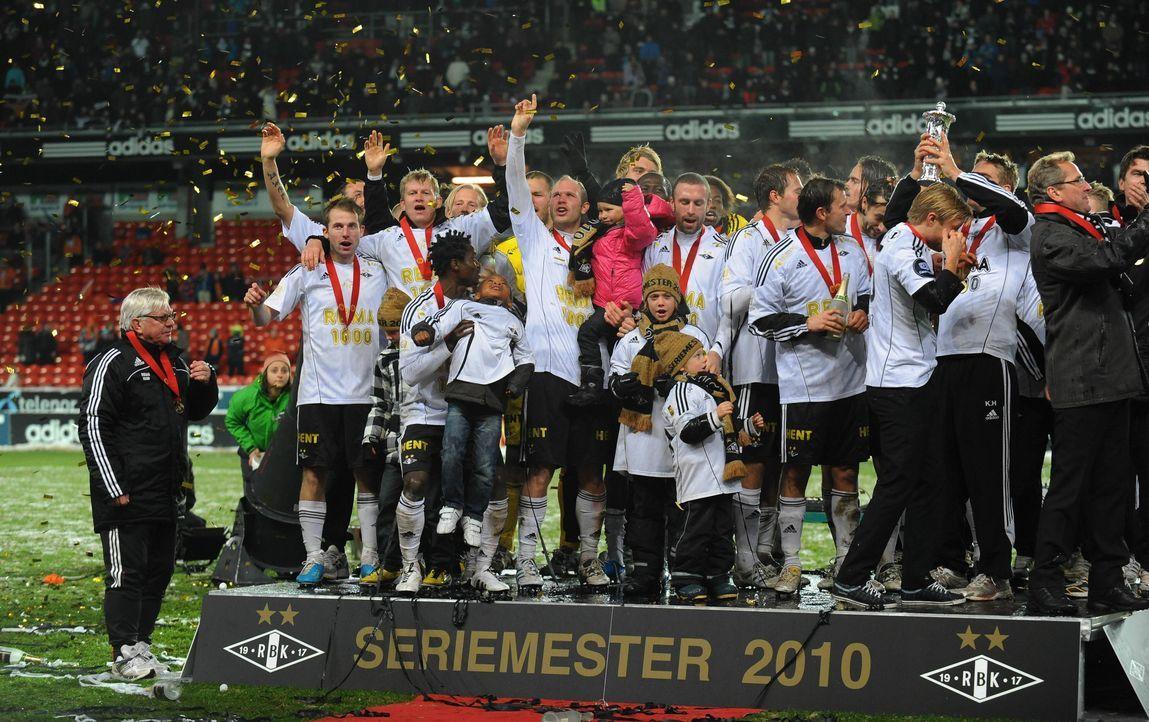 Norwegen: Rosenborg Trondheim 2010  - Bildquelle: imago sportfotodienst